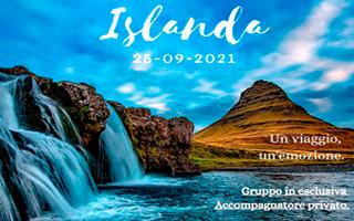 AURORE ON THE ROAD IN ISLANDA, dal 25 settembre al 2 ottobre 2021