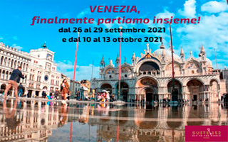 VENEZIA SVELATA, dal 26 al 29 settembre 2021e dal 10 al 13 ottobre 2021