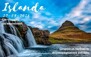 AURORE ON THE ROAD IN ISLANDA, dal 27 settembre al 5 ottobre 2021
